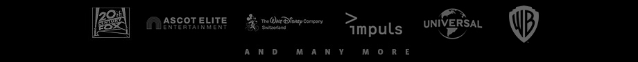 20th Century Fox - Ascot Elite - Walt Disney - impuls - Universal - Warner Brothers